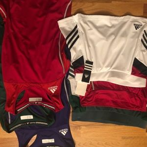 Adidas tennis skirts and tanks